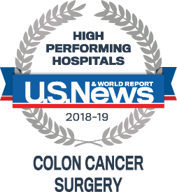US News and World Report High Performing Hospitals: Colon Cancer Surgery