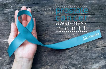 prostrate cancer awareness ribbon
